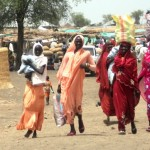 Colourful Sudanese ladies