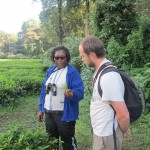 Guide Eunice and Chris Tea
