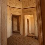 Inside Kolmanskop